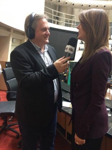 Entrevista para rádio de Florianópolis