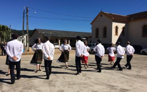 Grupo folclórico da escola