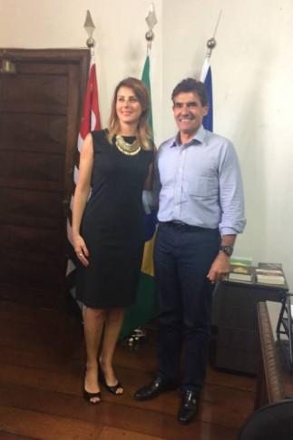 Com o Prefeito de Ribeirão Preto, Duarte Nogueira